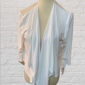 R&M Richards White Jacket